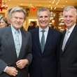24 Roberto Pensotti, from left, Giorgio Borlenghi and Tom Standish at the Mrs. B Jewelry Launch at Valobra November 2013