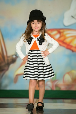 Emily Coco Monette at the Houston Symphony Children's Fashion Show & Luncheon March 2015