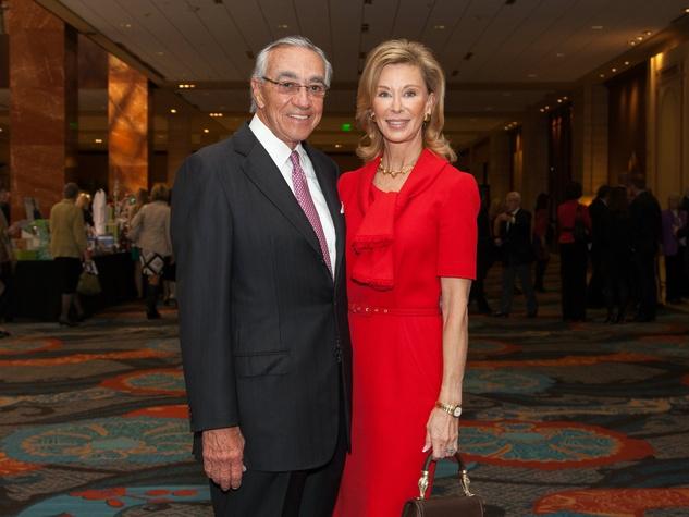 Jack and Deborah Gunter at Living Legend Luncheon with George W. Bush