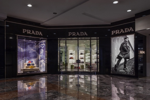 Prada boutique in Mexico City