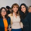 31 Vicki Barazande, from left, Shahrzad Bina and Atessa Barazande at the Amir Taghi launch May 2014