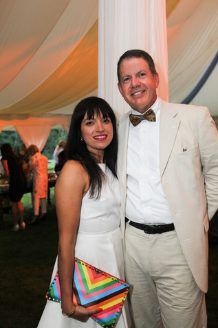 News, Shelby, M.D.Anderson in Aspen, July 2015, Sandra and Mark Manela