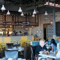 Bradley's Fine Diner April 2014 interior with crowd