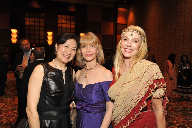 Houston, Tapestry Gala, May 2015, Lily Foster, Susan Boggio, Marie Bosarge
