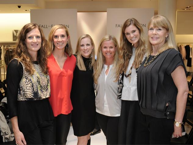 Cecelia Hodges, Arden Ellis, Susan Hutcheson, Jamie Sowa, Katie Anderson and Debbie Stewart, Fall Into Fashion