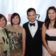 Bao-Tuong Nguyen, from left, Van-Tuong Nguyen, Chung Nguyen and Florence Tang at the Rice Design Alliance Gala November 2013