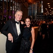 Gordon Bethune and Jessica Rossman at Bering Omega's Sing for Hope
