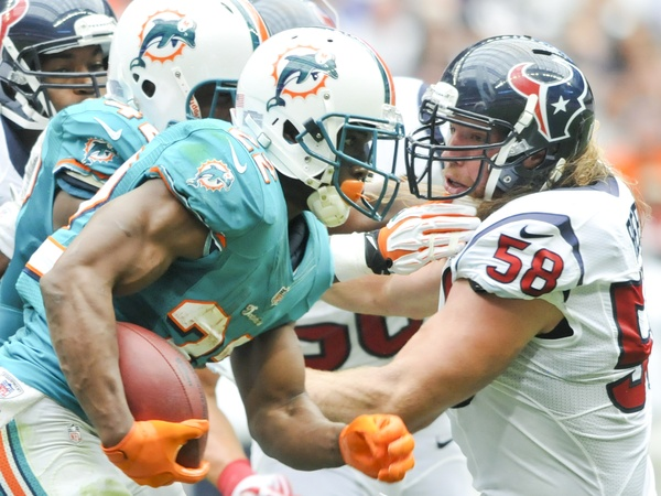 Brooks Reed Texans Dolphins