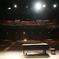 Interior of the Alma Thomas Theater at Southwestern University
