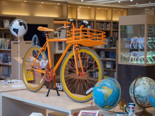 Museum of Fine Arts, Houston gift shop Marton bicycle
