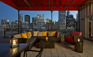 Penthouse Terrace at Hotel Icon