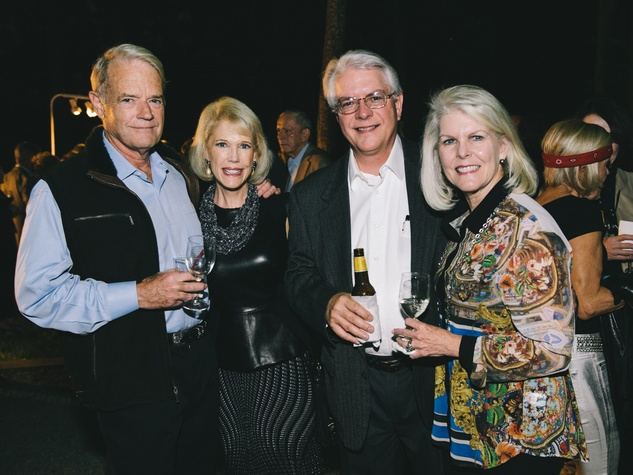 13 David and Leslye Weaver, from left, with David and Tish Peden at the Bayou Preservation Association's Born on the Bayou party October 2013