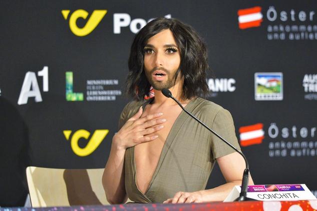 Eurovision winner Conchita from Austria