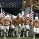 Charlie Strong UT Texas Bowl team run