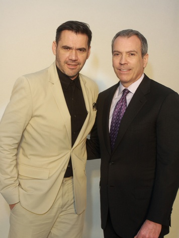 87 Roland Mouret, left, and Bob Devlin at the Child Advocates luncheon December 2013