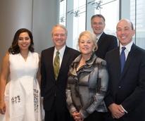 Nicole Katz, Dr. Mark Bloom, Judith Katz, Dr. Mauro Ferrari, Evan Katz,