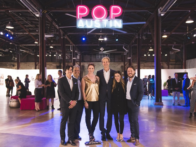 Pop Austin International Art Show 2016 David Garza Steve Adler Jennifer Ransom Rice John Hogg Lana Carlson Steve Carlson