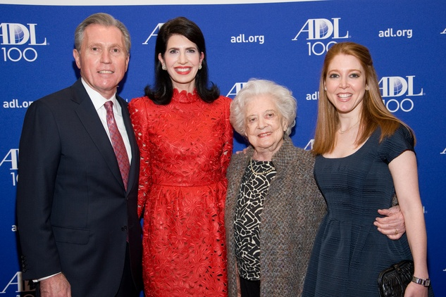 Martin Fein and Dr. Kelli Fein, from left, Celina Fein and Mindy Fein at the ADL Houston in Concert Against Hate November 2013