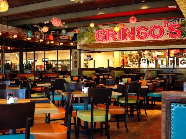 Gingo's Mexican Kitchen Champions interior