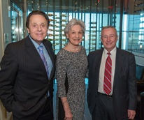 Houston Methodist Leading Hearts, April 2016, Tony Vallone, Anita Gotto, Dr. Tony Gotto