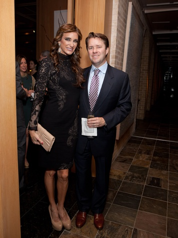 Melissa and Michael Mithoff at the Asprey dinner October 2013