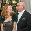 News_Bhatia Christmas party_December 2011_Cindi Rose_Dr. Franklin Rose