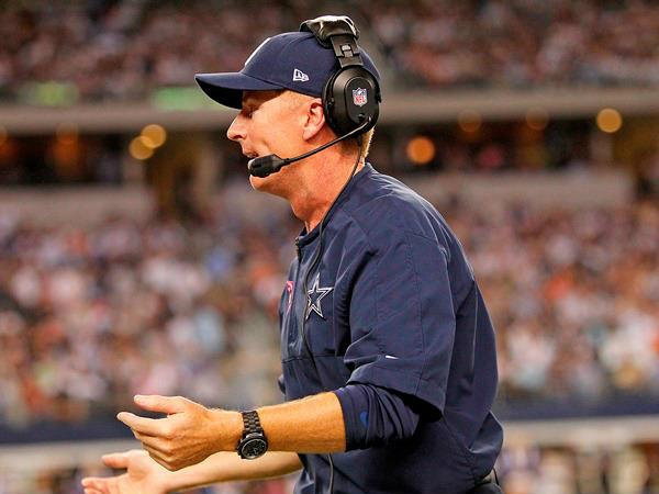Jason Garrett of the Dallas Cowboys