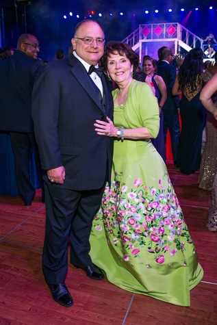 Clarence and Ann Cazalot at the Circle of Life Gala April 2015