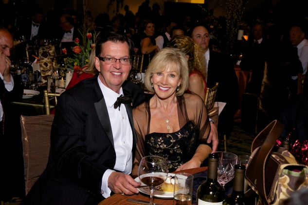 Richard and Sherry Lane at the Montgomery County Heart Ball March 2014