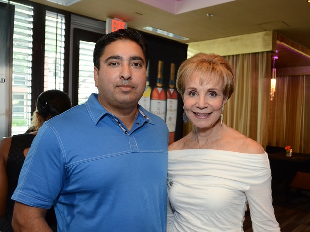 16 Houston Restaurant Weeks kickoff July 2013 Lucky Chopra, Leisa Holland-Nelson