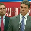 News_Rick Perry_Griffin Perry_press conference_drops out of race