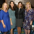 Amber Zable, Michelle Slaughter, Sarah Morgan, Kyle Huckaby, JLD milestone luncheon
