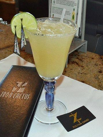 Iron Cactus $30,000 Margarita_Zoltan David earrings_Valentine's Day_2015