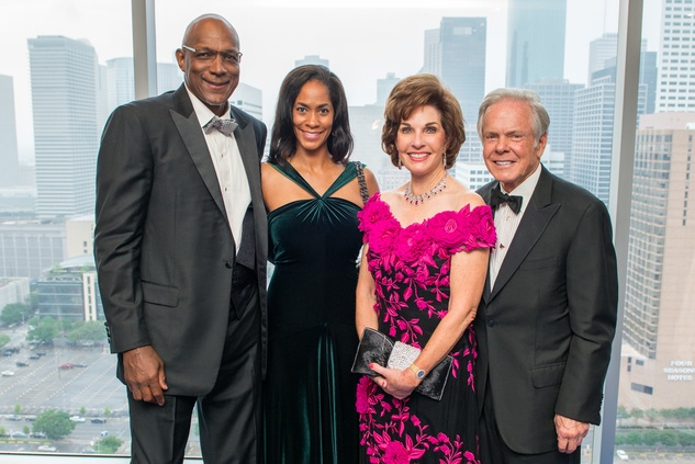 Clyde and Tonya Drexler, from left, and Sherry and Jim Smith at the Circle of Life Gala April 2015