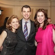 Christina and Mark Hanson, from left, with Phoebe Tudor at the Young Audiences of Houston Gala April 2014