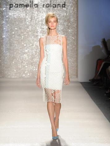 1 Fashion Week spring summer 2013 Pamella Roland interview October 2013 Look 1