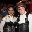 Melanie Johnson, Dr. Brian Parsley at Health Museum Steampunk gala