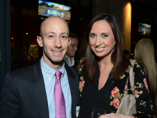 4 Andrew Scott and Emily Carman at the Holocaust Museum Houston's Next Generation Young Professionals kickoff party November 2013