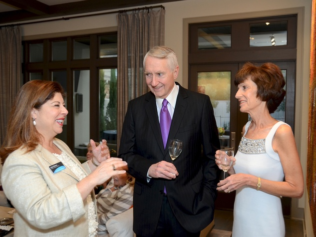 4 Houston Ballet Ambassadors event September 2013 Judy Waters, Phil Bazelides and Diane Bazelides