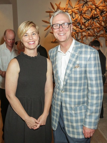 Katy Prairie Conservancy Gala 2015 Callie Easterly and Chris Bell