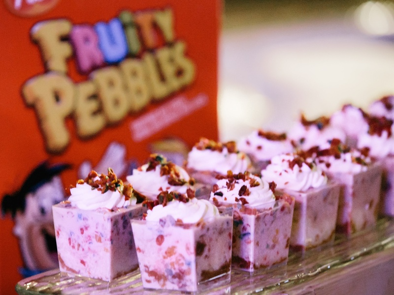 Camp for All Culinary Challenge Mandola's Fruitti pebbles tres leches