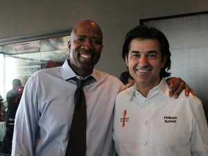 Kenny Smith and Philippe Schmit