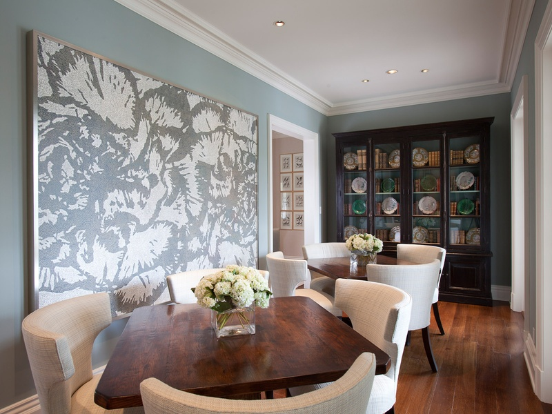Laura Singleton, interior design, October 2012, dining area