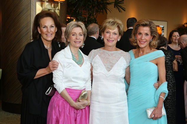 Symphony Ball, May 2015, Terry Smith; Eileen Moody; Kathleen Charmen; Leila Mischer