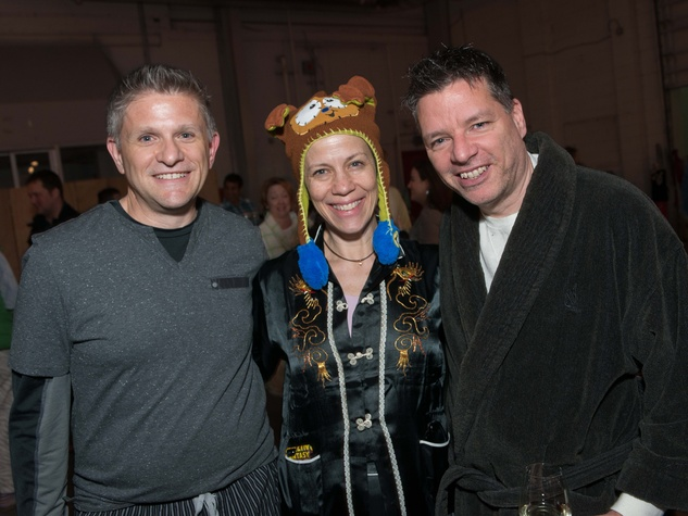 Brad Thien, from left, Jane Weiner and Kenn McLaughlin at the Hope Stone Gala March 2014