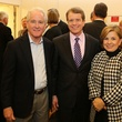 Ron Woestemeyer, from left, Dean Gladden and Mariette Woestemeyer at the Alley Theatre Opening Night Dinner January 2014
