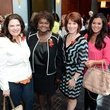 5605 Shelly Millwee, from left, Vivian Mora, Stacy Humphries and Jamie Sava at the Girls Inc. luncheon May 2014