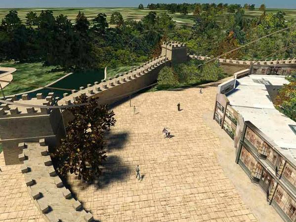 RSC Entertainment, theme park rendering, February 2013