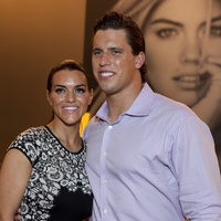 Megan and Brian Cushing at the David Yurman Meteorite Collection launch