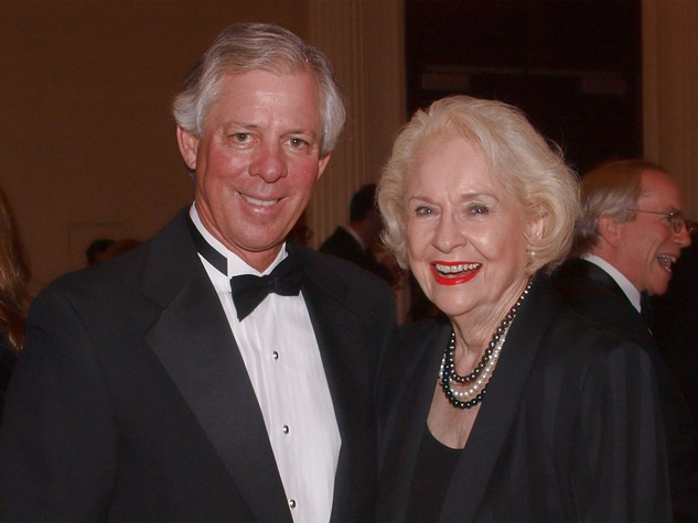 Robert Robbins and Liz Ghrist at the Welch banquet October 2014